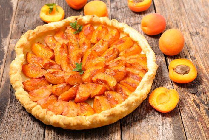 homemade apricot cake