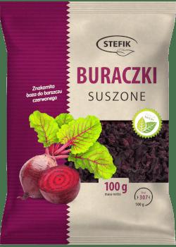 Oferta Buraczki Suszone 100g